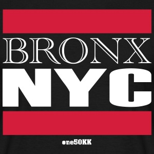 Bronx NYC - T-skjorte for menn