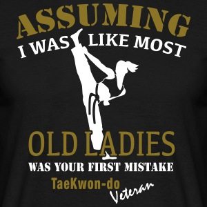 Tae Kwon Do Ladies Veteran - T-shirt herr