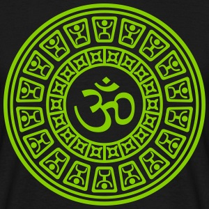 Om Maya One Color - Männer T-Shirt