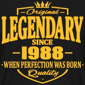 Legendary since 1988 - Men's T-Shirt
