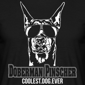DOBERMAN PINSCHER coolest dog - Männer T-Shirt
