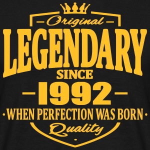Legendary since 1992 - Men's T-Shirt