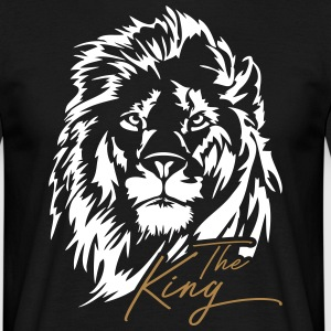 The Lion - The King - Men's T-Shirt