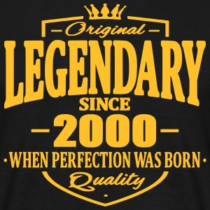 Legendary since 2000 - Men's T-Shirt