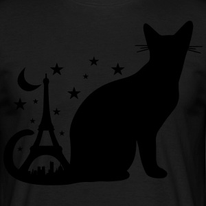 The Black Cat Romantic - Men's T-Shirt