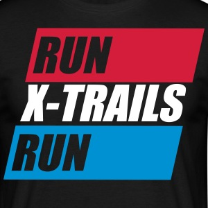 X-Trails. Run-X-Trails-Run. Est. 2017 - Männer T-Shirt