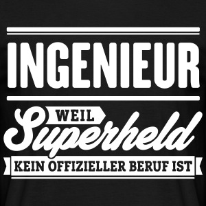 Superheld Ingenieur - Männer T-Shirt