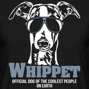 Whippet Coolest people - Men's T-Shirt
