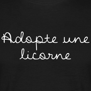 Adopte une licorne - T-shirt Homme