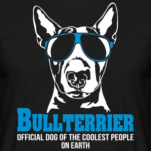 BULLTERRIER coolest people - Men's T-Shirt