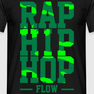 Rap Hip Hop Fluss - Männer T-Shirt