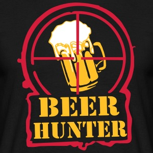 beerhunter - Mannen T-shirt