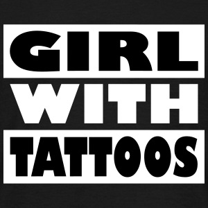 Girl with tattoos - Men's T-Shirt