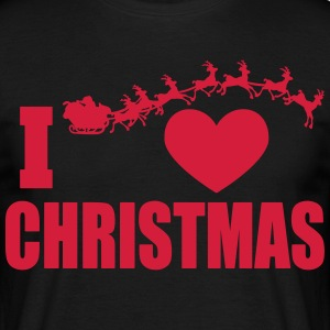 I love Christmas - Men's T-Shirt