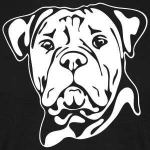 OLD ENGLISH BULLDOG PORTRAIT - Men's T-Shirt