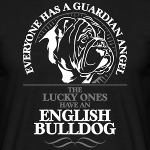 GUARDIAN ANGEL ENGLISH BULLDOG - Men's T-Shirt