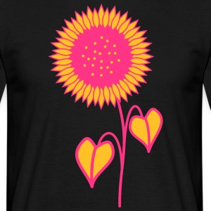 tournesol rose - T-shirt Homme