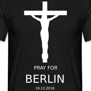 PRAY4BERLIN - T-skjorte for menn