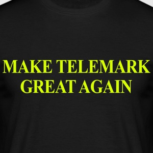 Make Telemark Great Again - Men's T-Shirt