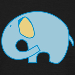 Elefante elepanth logotipo de sello - Camiseta hombre