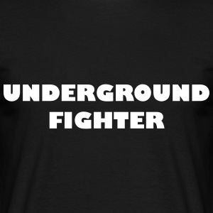 Underground Fighter - T-shirt herr