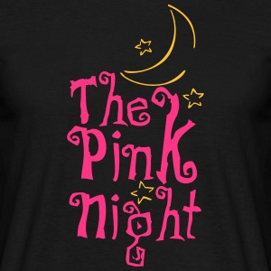 Pink Night - Mannen T-shirt
