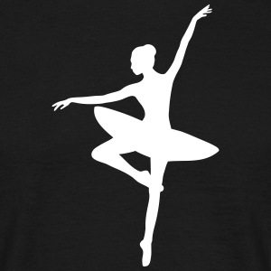ballerina - Men's T-Shirt