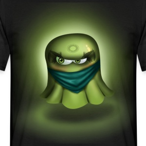 Ninja Ghost - T-shirt herr