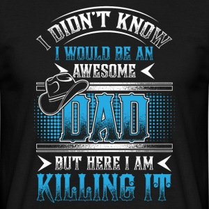 Great father! Father's Day! Dad! Daddy! - Men's T-Shirt