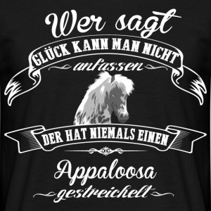 Appaloosa luck - T-shirt herr