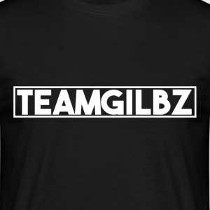 Team Gilbz T-Shirt Black - Men's T-Shirt