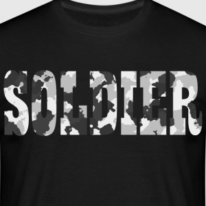Soldier Camouflage - Men's T-Shirt