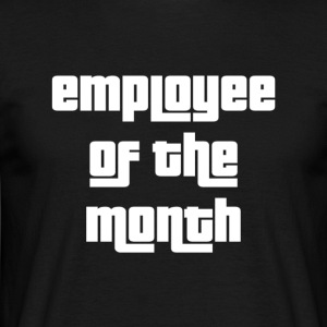 Employee of the Month - T-skjorte for menn