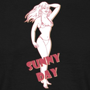 sunny day with sexy girl - Men's T-Shirt