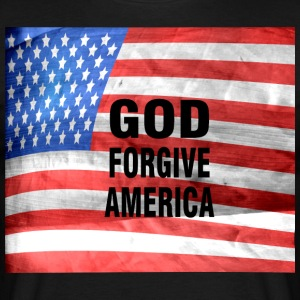 GOD FORGIVE AMERICA - Men's T-Shirt