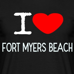 I LOVE FORT MYERS BEACH - Men's T-Shirt