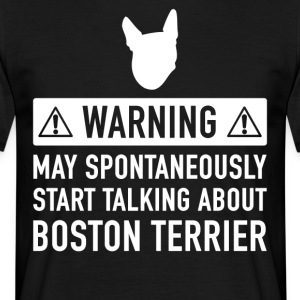 Idea del regalo de Boston Terrier gracioso - Camiseta hombre