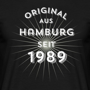 Original from Hamburg since 1989 - Men's T-Shirt