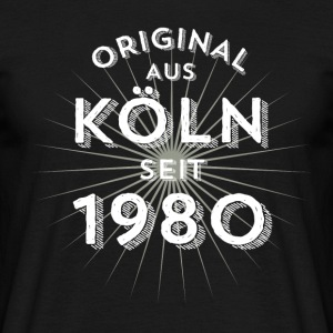 Original från Köln sedan 1980 - T-shirt herr