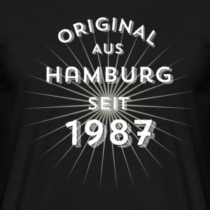 Original from Hamburg since 1987 - Men's T-Shirt