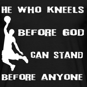 basketbal God - Mannen T-shirt