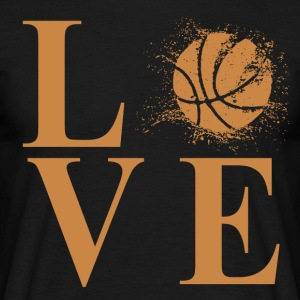I LOVE BASKETBALL! - Men's T-Shirt