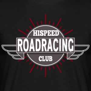Road Racing HiSpeedClub - Men's T-Shirt