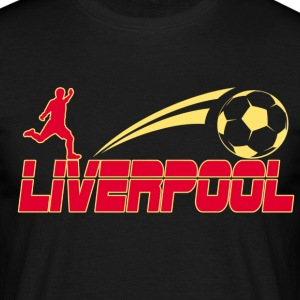 Liverpool Soccer - Men's T-Shirt