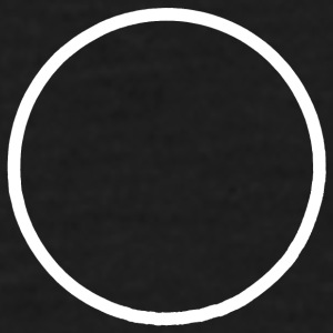 Minimalistisk Solar Eclipse (Mr) - T-skjorte for menn