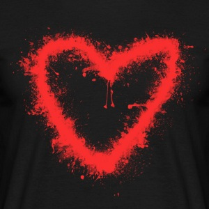 Spray-Coeur - T-shirt Homme