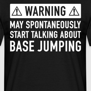 Grappig Base Jumping Cadeau Idee - Mannen T-shirt