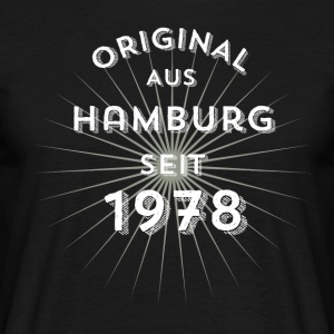 Original from Hamburg since 1978 - Men's T-Shirt