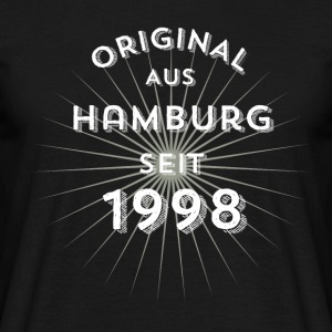 Original from Hamburg since 1998 - Men's T-Shirt