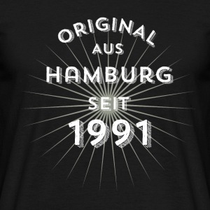 Original from Hamburg since 1991 - Men's T-Shirt